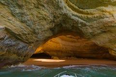 Praia perto de Lagos - Algarve Portugal fotografia de stock royalty free