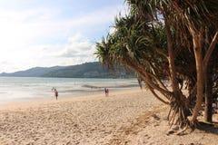 Praia Phuket de Patong Imagem de Stock