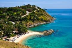 praia Phuket Tailândia de Nai-han em abril 2010 Fotografia de Stock Royalty Free
