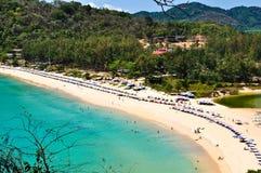 praia Phuket Tailândia de Nai-han em abril 2010 Imagem de Stock Royalty Free