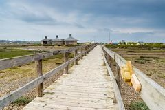 Praia Portland Dorset de Chesil fotos de stock