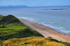 Praia Portrush de Whiterocks Imagem de Stock Royalty Free