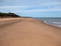 Praia principal da bacia, PEI Fotografia de Stock