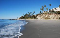 Praia principal no Laguna Beach, Califórnia. Imagens de Stock
