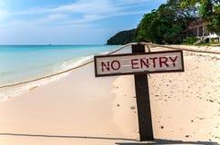 Praia privada na ilha de Maiton, Tailândia Fotos de Stock Royalty Free