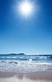 Praia quente Foto de Stock Royalty Free