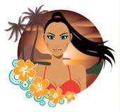 Praia quente 'sexy' do verão Imagens de Stock