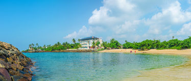A praia quieta Imagens de Stock