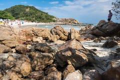 Praia Rio de Janeiro de Trindade Imagens de Stock