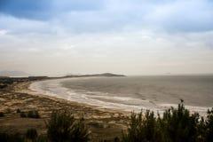 Praia - robi gi Laguna, Santa Catarina, Brasil - Obraz Stock