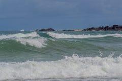 Praia robi Paiva Pernambuco, Brazylia, - fotografia stock