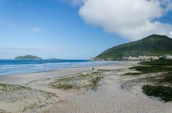 Praia robi Santinho, Florianopolis Obraz Royalty Free
