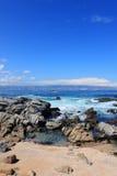 Praia rochosa Imagem de Stock