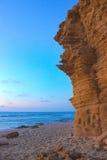 Praia rochosa Fotografia de Stock