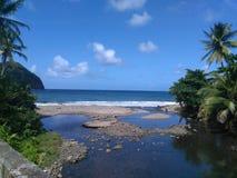 Praia rochoso Imagem de Stock Royalty Free
