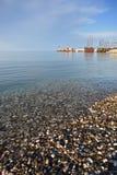 Praia rochoso E imagens de stock