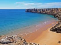 Praia, Sagres, Portugal imagem de stock royalty free