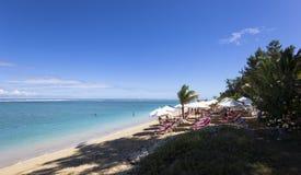 Praia salina do La, La Reunion Island, france Imagem de Stock Royalty Free