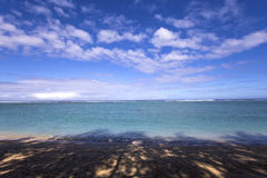 Praia salina do La, La Reunion Island, france Imagens de Stock Royalty Free