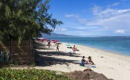 Praia salina do La, La Reunion Island, france Imagem de Stock
