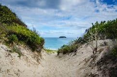 Praia salina grandioso - St Barths Foto de Stock Royalty Free