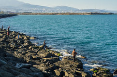 Praia Samsun de Atakum, Turquia Imagem de Stock Royalty Free