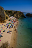 Praia Santa Ana ,near Lagos, Portugal Stock Photo