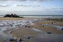 Praia selvagem Imagem de Stock