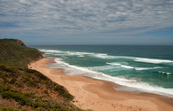 Praia selvagem do paraíso fantástico. Imagem de Stock