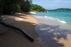Praia selvagem em Phuket Imagens de Stock Royalty Free
