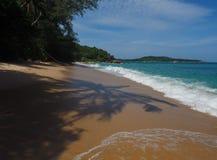 Praia selvagem em Phuket Imagem de Stock Royalty Free