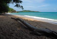 Praia selvagem em Phuket Foto de Stock