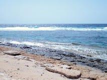 Praia selvagem em uma ilha pequena (2) Fotografia de Stock