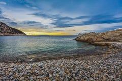 Praia selvagem Fotografia de Stock Royalty Free