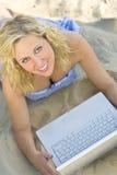 Praia sem fio Foto de Stock