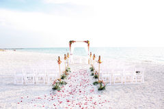 Cerimónia de casamento imagens de stock royalty free