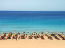Praia sonhadora Fotografia de Stock