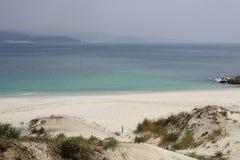 Praia sonhadora fotos de stock royalty free