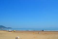 Praia sul das ilhas de Shengsi Imagem de Stock