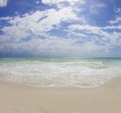 Praia sul de Miami imagem de stock