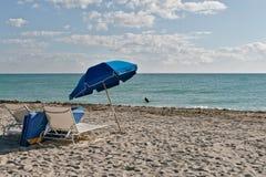 Praia sul de Miami Fotografia de Stock