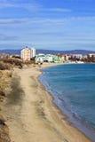 Praia sul de Nessebar Fotografia de Stock