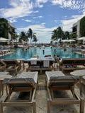 Praia sul de Ritz Carlton fotos de stock