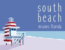 Praia sul Florida fotos de stock royalty free