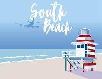 Praia sul Florida fotografia de stock