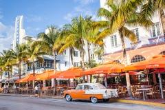Praia sul Miami Imagem de Stock Royalty Free