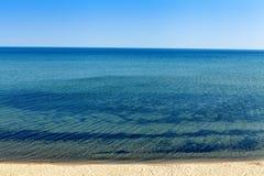 Praia superior da península Foto de Stock