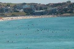 Praia Sydney de Bondi Fotos de Stock Royalty Free