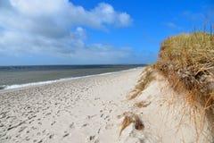 Praia Sylt da onda de água fotos de stock royalty free