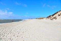 Praia Sylt da onda de água imagens de stock royalty free